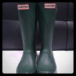 Girls Hunter Boots Size 1